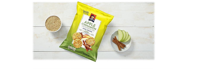 Quaker Rice Crisps, Apple Cinnamon,7.04 Ounce (Pack of 12)