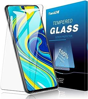 Redmi Note 9S ガラスフィルム TopACE Redmi Note 9S フィルム 日本旭硝子製 気泡防止 自動吸着 防指紋 高透明度 Redmi Note 9S 対応【2枚セッ】