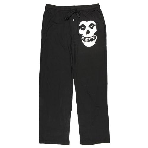 08f1d506df Bioworld Misfits Fiend Mens Black Lounge Pants