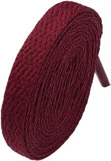 Lacet 8mm Violet Jujube Lacets Rouges Portant chaîne pour Hommes et Femmes