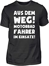 Motorrad: Motorradfahrer im Einsatz! - Herren Organic Shirt
