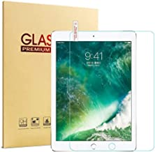 New iPad 9.7 2017/2018 Glass Screen Protector, HISSP High Definition Clear 9H Hardness Scratch Resistant Tempered Film for iPad 5th/6th Generation, iPad Air 1, iPad Air 2, iPad Pro 9.7