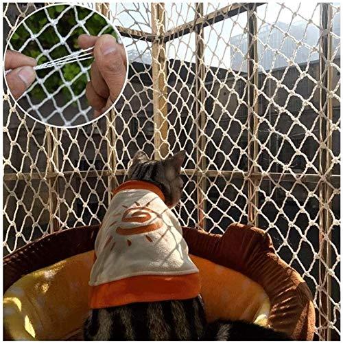 I Gatti di Protezione Net, Safe Kids Net Nylon Bianco di Windows Net Scale Corda Copertura della Rete for Il Trasporto Ferroviario Camion del carico Carta da Giochi Recinzioni 2m x 2m 4m x 5m