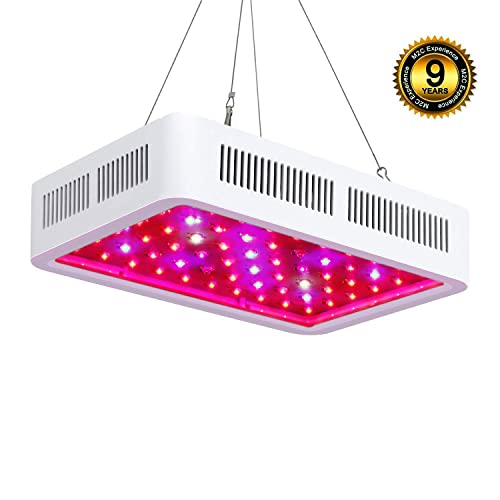 Roleadro LED Cultivo Interior 300W LED Grow Light Espectro de 9 Bandas Lamparas Led Indoor para