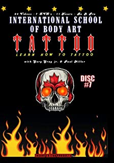 Learn How to Tattoo Instructional Video Guides - Topics 23 through 24