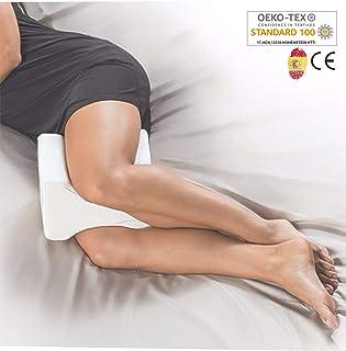 comprar comparacion AIMO Spain Almohada cojín para piernas ortopédico de Rodilla KP-001, Facilita el Dormir de Lado, Alivia Dolores de Espalda...