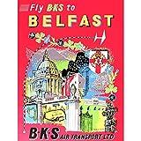 Wee Blue Coo Travel Northern Ireland Belfast Art Print