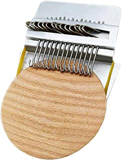 Tixiyu Kleine Loom-Speedweve Type Weave Tool,Houten DIY Waving Arts Darning Tool,Beginners Houten Loom voor het herstellen...