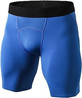 comprar comparacion Byqny Deporte Leggins Jogging Pantalones Cortos de Capa Base de Compresión para Hombres con Función de Secado Rápido Mallas