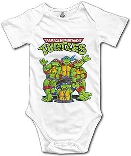 Axige888 Teenage Mutant Ninja Turtles Unisex Short Sleeve Bodysuit Set for Baby