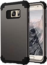 Samsung Galaxy S7 Case,S7 Case,Casewind Samsung Galaxy S7 Case Heavy Duty Hard PC Soft Silicone Hybrid Shockproof Anti Scratch Rugged Bumper Full Body Protective Samsung S7 Hybrid for Men,Gunmetal