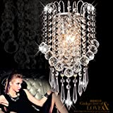 Jorunhe Modern K9 Crystal Wall Lights Sconce Chandelier Wall Lamp Aisle Fixtures