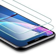 """ESR Protector Pantalla para iPhone XR [2 Piezas][Garantía de por Vida], Cristal Templado 9H Dureza, Anti-Huella para Apple iPhone XR de 6.1"""" 2018"""