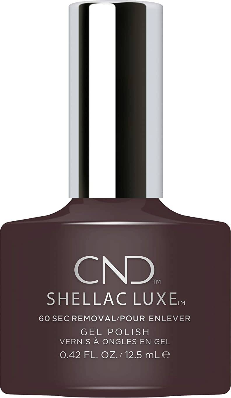 黒くするビルマ俳句CND Shellac Luxe - Phantom - 12.5 ml / 0.42 oz