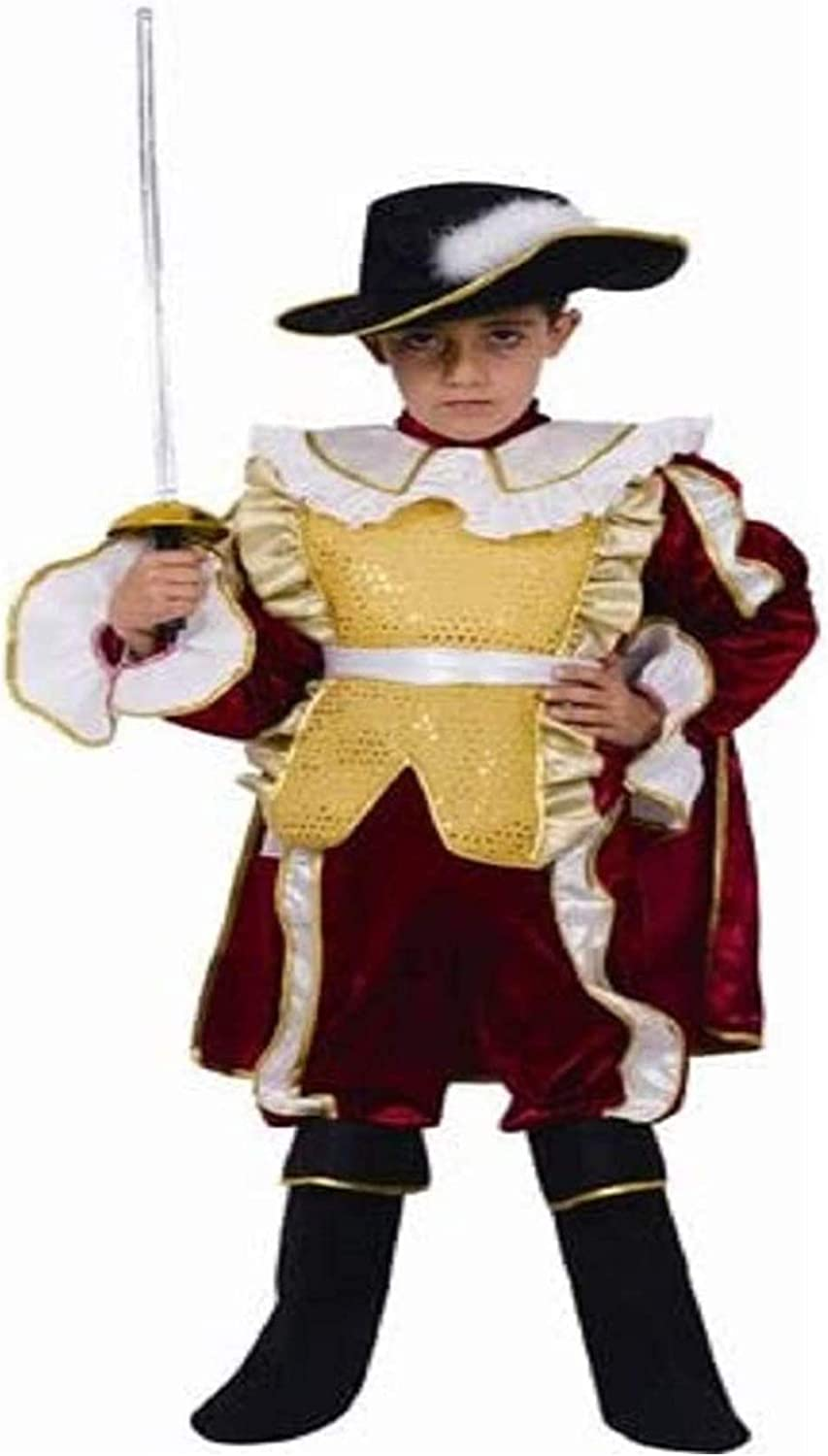 Red Noble Knight Japan's largest assortment Child Dress America New products world's highest quality popular By Up Costume