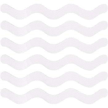 24 Piezas Pegatinas Ducha Antideslizantes PEVA Transparente Autoadhesivo Pegatinas Tiras Antideslizantes para Escaleras Tiras Antideslizantes para Ducha y Ba/ñera Piscinas 2 Estilos Ba/ñeras