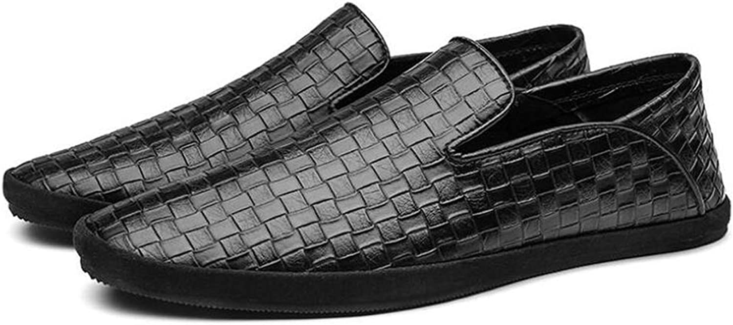Mens Soft Flat Casual shoes, Slip On Loafers Non-slip Casual Walking Sneaker Loafer Boat shoes