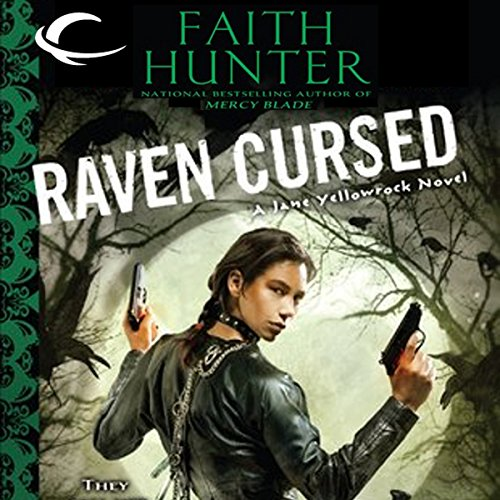Raven Cursed audiobook cover art