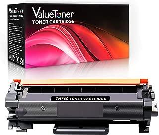 Valuetoner Compatible Toner Cartridge Replacement for Brother TN760 TN-760 TN730 for DCP-L2550DW HL-L2350DW HL-L2395DW HL-L2390DW MFC-L2710DW MFC-L2750DW MFC-L2750DWXL HL-L2370DW (1 Black)