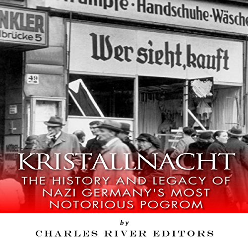 Kristallnacht audiobook cover art
