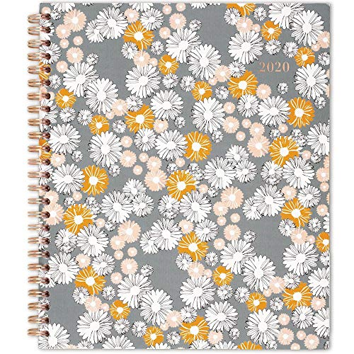 "2020 Planner, Cambridge Weekly & Monthly Planner, 8-3/4"" x 7"", Medium, Chamomile (1266-805)"