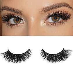 Milanté BEAUTY Flirty Real Mink False Lashes Black Natural Thick Long Full Reusable Fake Strip Eyelashes