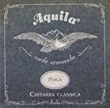 Best Aquila Acoustic Guitar Strings - Aquila 38C PERLA Superior Tension, Nylgut Strings Review