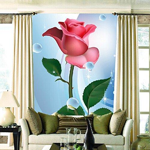 Fototapete Eine Individuelle Tapeten An Den Wänden Der Yuen Yuen Aus Jane Europäischen Vertikale Version Der Straße Grüne Tapete 3-Dimensionale Bilder Wallpaper Blume