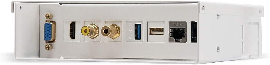 Nano Cable 10.35.0003 - Caja de Conexión Multimedia (VGA, HDMI, Jack 3.5, RCA, 2xUSB, 2xRJ45) Color Blanco
