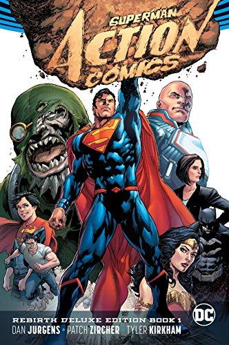 Superman Action Comics Rebirth Deluxe Coll HC Book 01