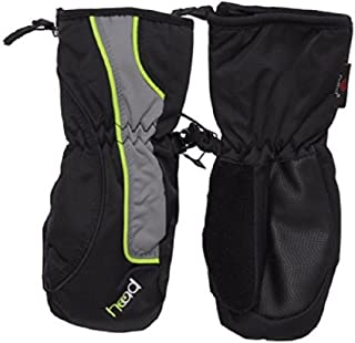 Jr. Ski Mitten Sweet Black/Gray/Dayglo Small (Ages 4-6)