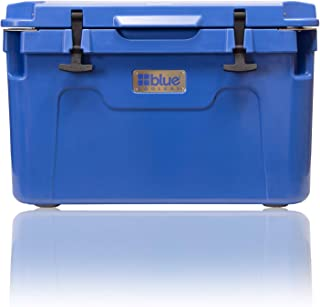 Blue Coolers Ice Vault – 55 Quart, Roto-Molded Ice Cooler | Large Ice Chest Holds Ice up to 10 Days |
