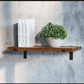 YXZQ Étagère Murale, étagère Flottante, étagère Murale en Bois Massif Rustique étagère Murale étagère Murale Organisateur ...