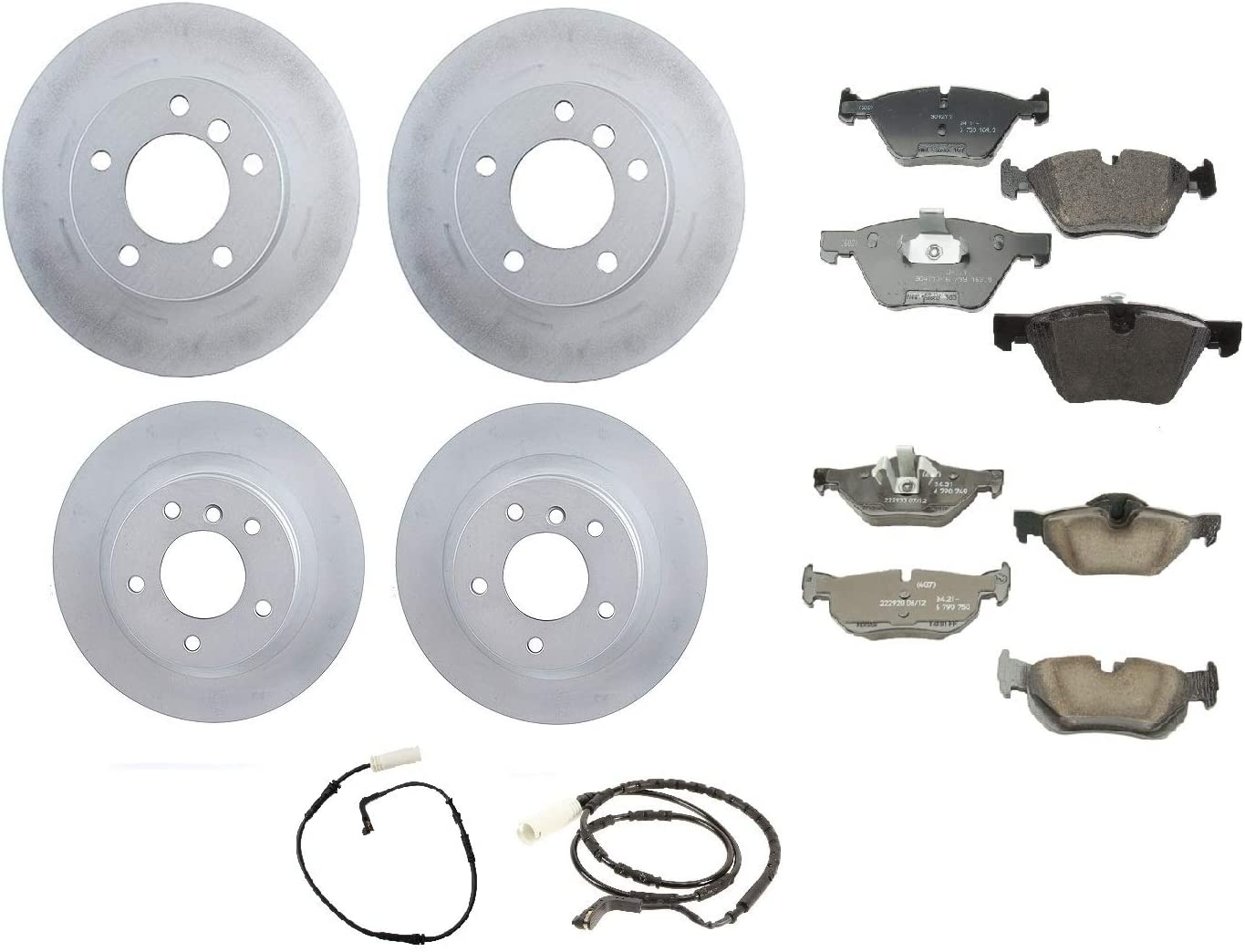 Front Rear Full Genuine Brake Kit Disc Price reduction Rotors Pads E Set For 2021 spring and summer new BMW
