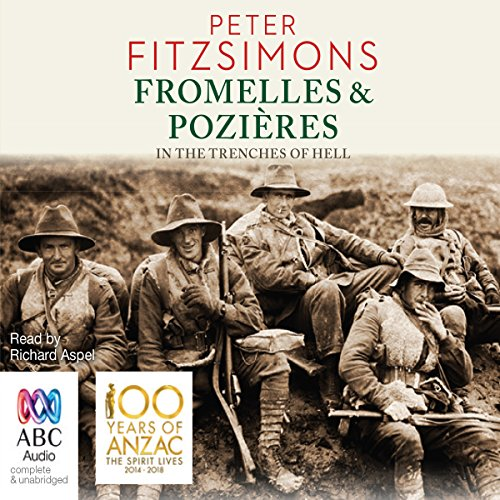 Fromelles and Pozières audiobook cover art