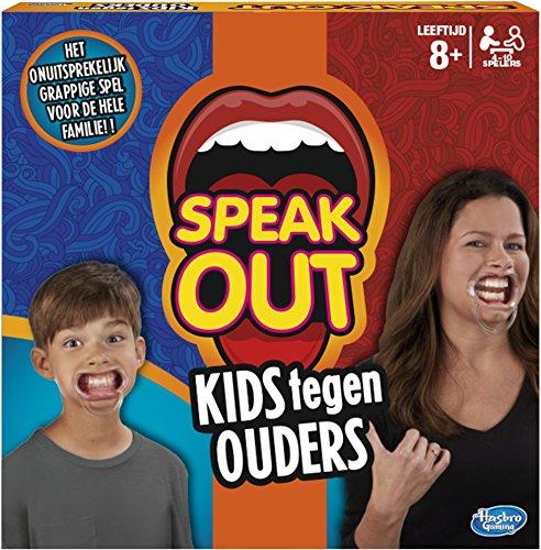 Hasbro C3145104 Speak out: Bambini Contro Genitori, Gioco