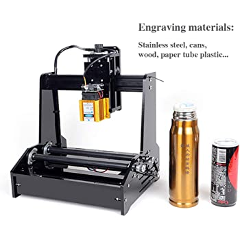 Vogvigo DIY Laser Engraver Printer Machine, 15W USB Laser Engraving Printer, latas portátiles de acero inoxidable cola de escritorio plotter de corte para win7, win8, win10, winXP: Amazon.es: Bricolaje y herramientas