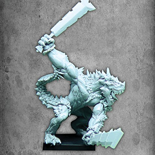 Avatars of War Saurian Veteran with Paired Weapons