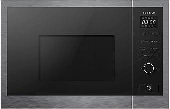 MICROONDAS INTEGRACION IMW-SS20L INFINITON (NEGRO, 20L, Potencia 800W, Grill 1000W, Capacidad 20l, Plato 24,5 cm, Descongelador)
