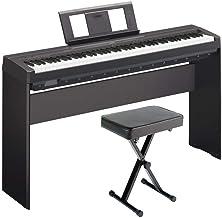 Yamaha P71 Digital Piano (Amazon Exclusive) Deluxe Bundle wi