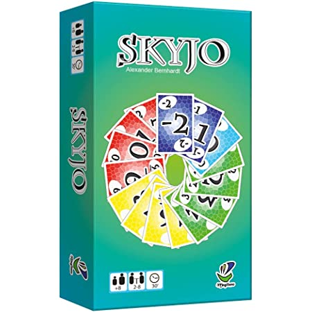 Magilano - Skyjo : Le Jeu de Cartes (boîte française)