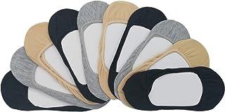 MRCC, 10 pares de calcetines invisibles para mujer, multicolor, 1277
