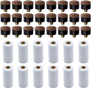 freneci Embouts /à Visser 10//11//13 Mm pour Queues de Billard Embouts Rigides Pack de Remplacement 10 Pi/èces