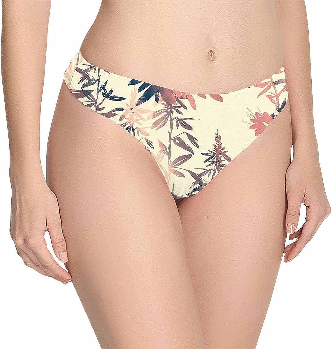 InterestPrint Baltimore Luxury Mall Women's Low Waist Breathable Pantie Underwear Soft