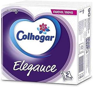 Colhogar servilletas Elegance 2 capas Blanca 90 unidades