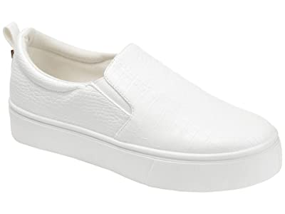 Journee Collection Comfort Foam Patrice Platform Sneaker (White) Women
