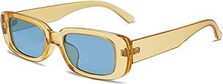نظارة شمسية نسائية مستطيلة الشكل بنمط قديم طراز 90s من فانليكر نظارات شمسية مكتنزة مستطيلة الشكل ESCAPE