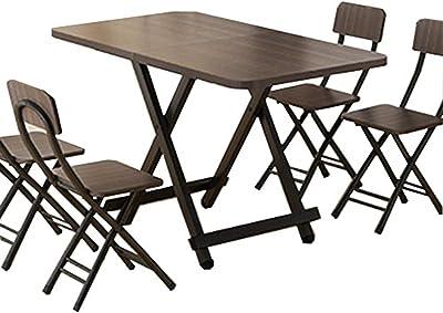 机 テーブル 幅100×奥行60×高さ73㎝ ローテーブル 和風 ダイニング/リビングテーブル/木製 サイド テーブル (幅100cm×奥行60cm×高さ73cm ブラウン)