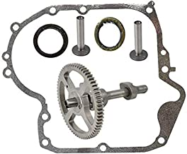 Karen 793880 Camshaft Plus Sump, for Briggs and Stratton 793880 793583 792681, Camshaft Kit with 697110 Gasket, 795387 Oil Seal Ring,Connecting Rods