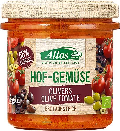 Allos Bio Hof-Gemüse Olivers Olive Tomate (6 x 135 gr)
